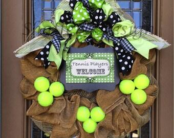 Tennis Wreath