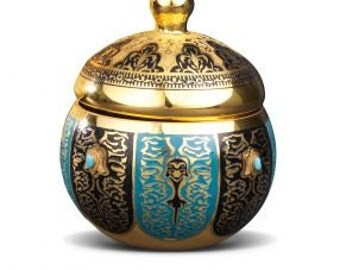 SUGAR CONTAINER- Ottoman Empire's Collection - Interior Design - Home Decor - Best Gift for a House - Free Shipping