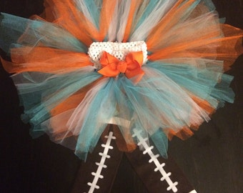 Miami Dolphins Colored Tutu