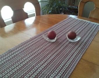 Handwoven Table Runner (reversible)