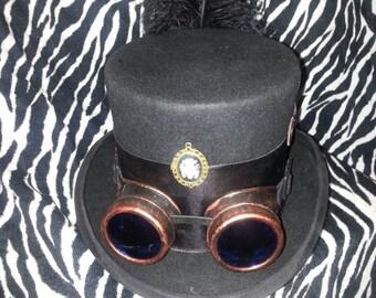 Ladies Steampunk Top Hat