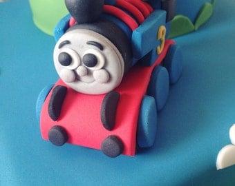 Thomas The Tank Engine Edible Cake Topper