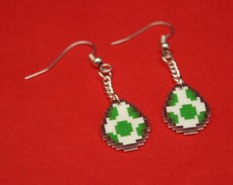 Super Mario Yoshi Egg Drop Earrings