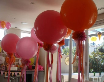 Decorated Big Balloons