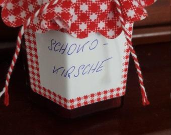 Chocolate Cherry jam