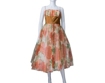 1950s Prom Style Dress by London Town