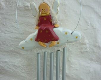 Handpainted Angel/Fairy Wind Chime