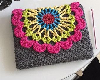 Crochet Mandala Ipad cover/case