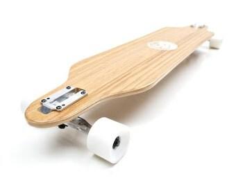 White Wave Bamboo Cruiser Longboard