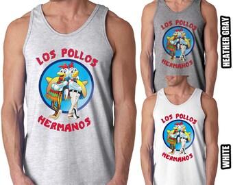 Los Pollos Hermanos Tank Top Chicken Brothers Sleeveless Shirts