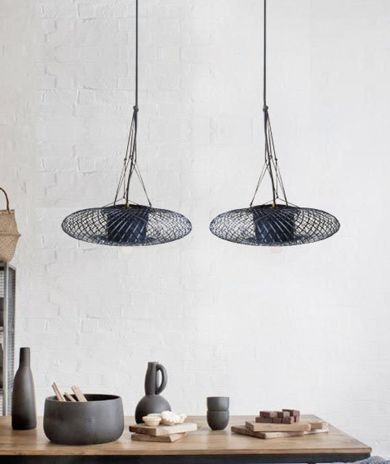 Moderne kroonluchter-hout hanger licht-houten door themaisoncraft