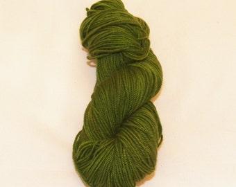 Juniper- Merino Worsted Weight Yarn- Hand Dyed- OOAK