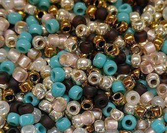 Custom Bead Mix// Hippie Boho  Mix// Miyuki Beads// Size 8/0