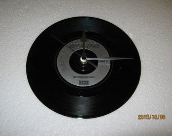 "Marillion- ""Incommunicado"" Vinyl Record Wall Clock"