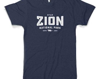 Zion National Park Cotton/Poly T-Shirt