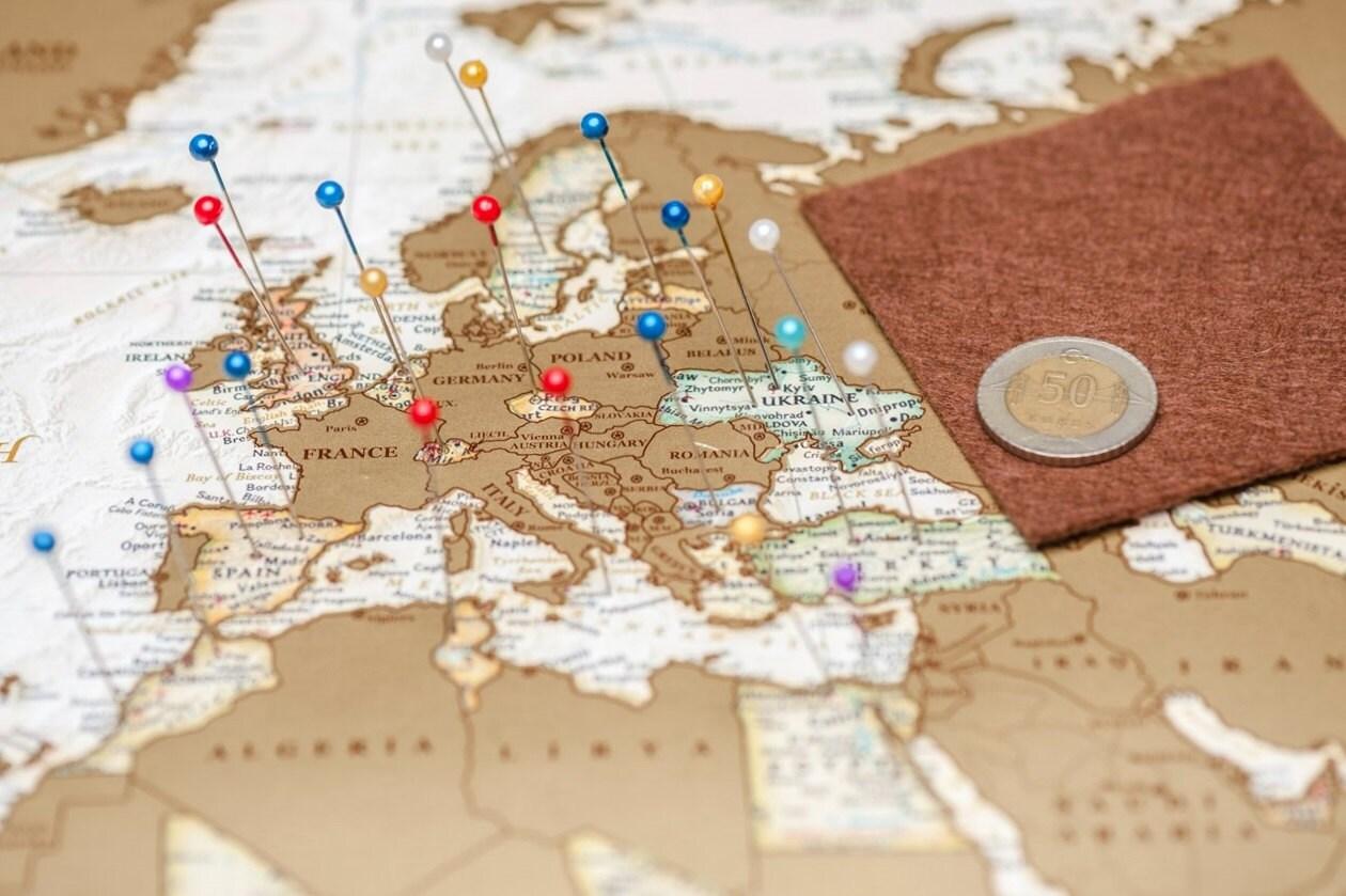 push pin travel map push pin world map world push pin by. Black Bedroom Furniture Sets. Home Design Ideas