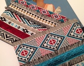 Pochettes MEXY Folk, accessoires, pochettes, clutch, accessories, boho, bohemian, hippie, franges