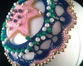 Woman's Beaded Kippah