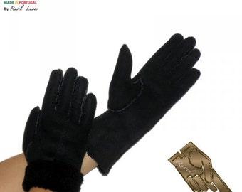Ladies Leather Gloves (SB82013)