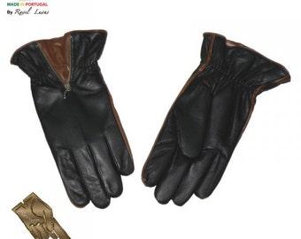 Men Leather Gloves (HMOT32014)