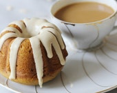 Pumpkin Spiced Latte Mini-Bundt Cakes, Pumpkin Cakes, Thanksgiving Desserts, Tea Party Dessert