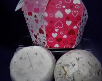 Bath Bomb & Shower Steamer Valentine's Day Gift Set