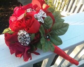True Love Brooch Bouquet