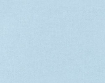 Kona® Cotton Baby Blue K001-1010 from Robert Kaufman 1/2 Yard