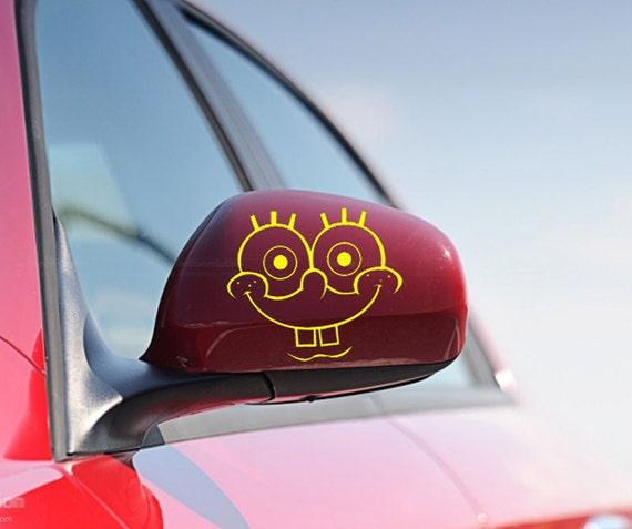 FUN STICKERS SpongeBob Car Decals X - Spongebob car decals