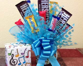 Music notes Candy Bouquet