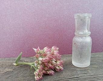 Tiny bottles glass french farmhouse antiques items antique perfume bottle lampwork wessel mini jars tiny vase memory box shadow dies