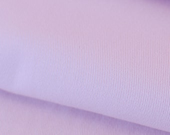 1yd x 56'' Light Pink Denim Light Weight Fabric / 98/2% Cotton/EA / by the yard