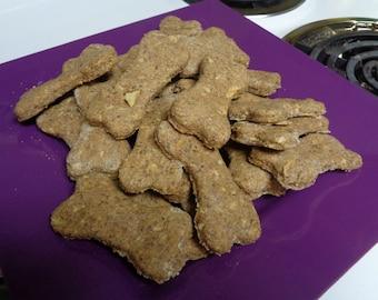 24 Homemade Apple Dog Treats - All Natural, No Preservatives