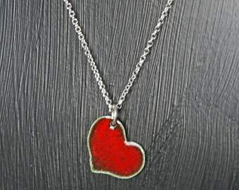 Red Heart Sterling Silver 925