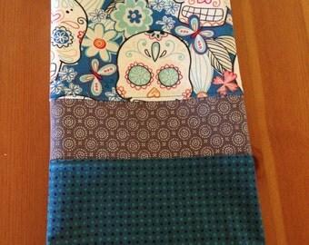 "Dia de los Muertos (Day of the Dead) ""Tropical"" Kitchen Tea Towel"