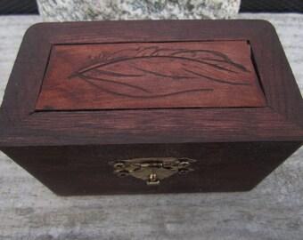 Feather Keepsake box