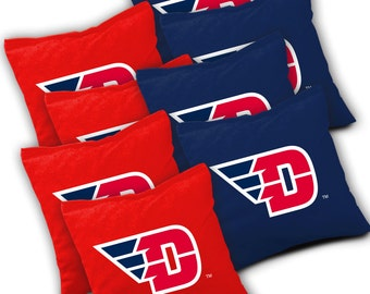 Officially Licensed Dayton Flyers Cornhole Bags Set Of 8