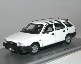kess scale models 1984 alfa romeo 33 1.5 4x4 giardinetta 1:43