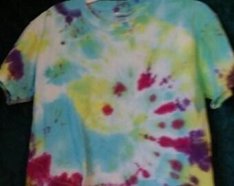 child's large tie dye t-shirt