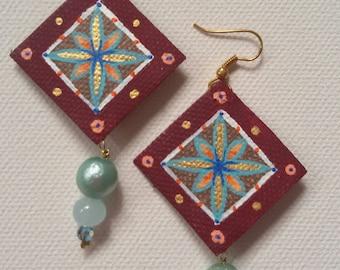 Maiolica Earrings / Orecchini