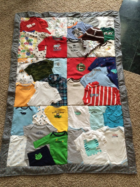 First Year Baby Clothes Keepsake Quilt Deposit