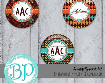 Fall Is Upon Us - Editable Bottle Cap Images - Digital Collage Sheet - 1 Inch Circles for Bottlecaps, Hair Bows, Pendants - Instant Download