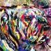 Bulldog Art, Dog Painting, Pet Art