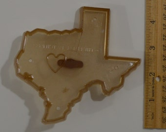"Vintage BRIAR PATCH TEXAS Cookie Cutter | 1982 4.5"" x 4.5"""