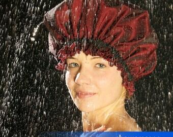 Shower Cap - Shimmering Silkara - Shower Hat for MEN & WOMEN