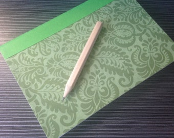 A6  Hand Sewn Bound Hand Made Soft Back Note Book