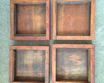 Vintage printer trays