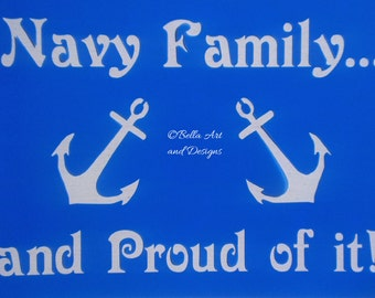 Navy Stencils  *Free gift with every order*