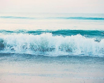 Ocean print, wall art, home wall decor print, photography print