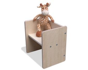 Children turn stool stool mini2mount-natural
